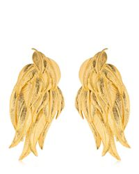 Aurelie Bidermann - Metallic Elvira Earrings - Lyst