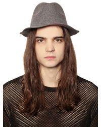 Cheap Monday - Brown Felt Hat for Men - Lyst