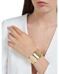 Isabel Marant - Metallic Manchette Gold Plated Bracelet - Lyst
