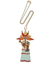 CORDIEN - Metallic La Messicana Necklace - Lyst