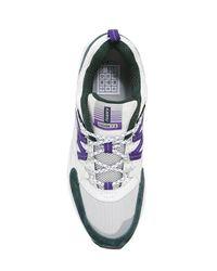 Karhu - White Fusion 2.0 Faux Suede & Nylon Sneakers for Men - Lyst