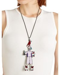 CORDIEN - Metallic La Regina Necklace - Lyst