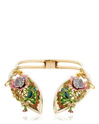 Casadei - Metallic Amazon Jungle Necklace - Lyst