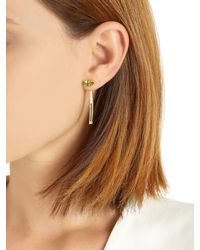 Bea Bongiasca - Metallic Tiger Lily Prosperity Gold Earrings - Lyst