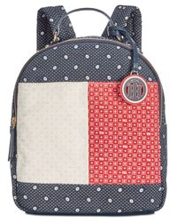 Tommy Hilfiger - Blue Flag Bandana Backpack - Lyst