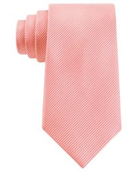 Geoffrey Beene - Pink Bias Stripe Solid Tie for Men - Lyst