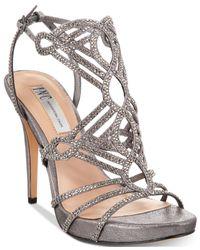 INC International Concepts | Metallic Women's Surrie Evening Sandals | Lyst