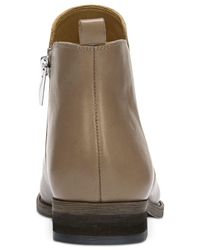 Franco Sarto - Brown Hampton Leather Booties - Lyst