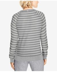 Champion - Gray French Terry Sweatshirt - Lyst