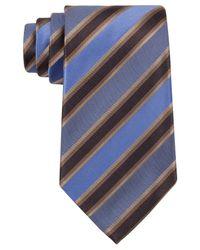Kenneth Cole Reaction - Blue Tie, Tony Stripe for Men - Lyst