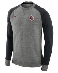 Nike - Gray Men's Aw77 Crew Sweatshirt for Men - Lyst