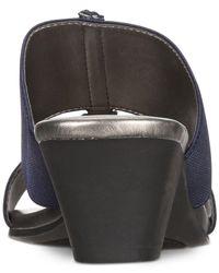 Karen Scott - Blue Zaila Slip-on Sandals, Created For Macy's - Lyst
