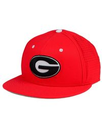 76d64c55355 Lyst - Nike Georgia Bulldogs True Vapor Fitted Cap in Red for Men