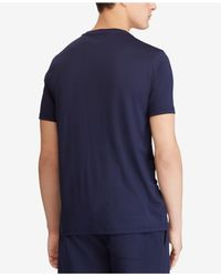 Polo Ralph Lauren - Blue Active-fit Performance T-shirt for Men - Lyst
