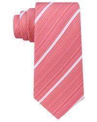 Kenneth Cole Reaction - Orange Men's Linear Stripe Tie for Men - Lyst