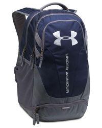 Under Armour - Blue Men's Ua Hustle 3.0 Backpack for Men - Lyst