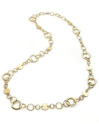 Style & Co. - Metallic Style&co. Necklace, Gold-tone Circle Link Necklace - Lyst