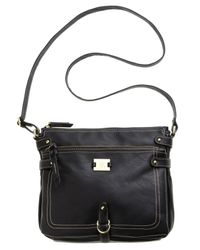 Style & Co. | Black Precious Cargo Crossbody, Only At Macy's | Lyst