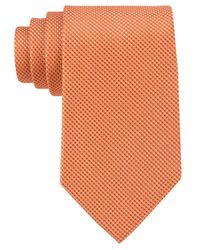 Michael Kors | Orange Michael Sorento Solid Tie for Men | Lyst