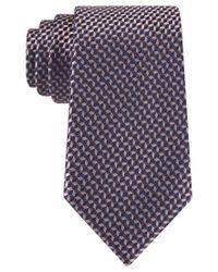 Michael Kors - Brown Michael Neat Tie for Men - Lyst