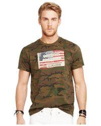 Denim & Supply Ralph Lauren   Green Men's Core American Flag Graphic T-shirt for Men   Lyst