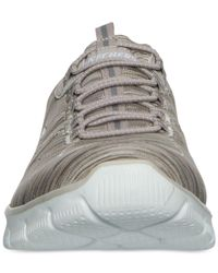 Skechers - Gray Women's Relaxed Fit: Empire - Game On Walking Sneakers From Finish Line - Lyst