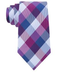 Tommy Hilfiger | Pink Buffalo Tartan Tie for Men | Lyst
