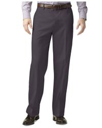 Dockers - Gray Classic Fit Iron Free Khaki Pants D3 for Men - Lyst