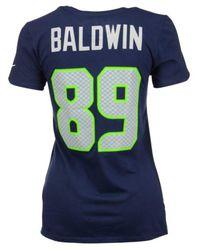 Nike - Blue Women's Doug Baldwin Seattle Seahawks Player Pride T-shirt - Lyst
