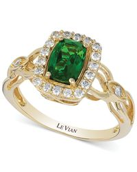 Le Vian | Metallic Chrome Diopside (1-1/3 Ct. T.w.) And Diamond (1/6 Ct. T.w.) Ring In 14k Gold | Lyst