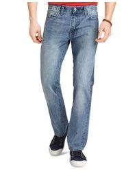 Izod - Blue Regular-fit Jeans for Men - Lyst