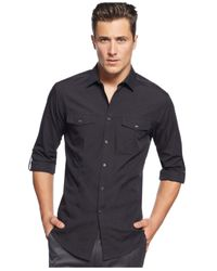 INC International Concepts | Black Men's Core Topper Shirt, Only At Macy's for Men | Lyst