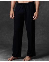 Polo Ralph Lauren | Black Men's Supreme Comfort Knit Pajama Pants for Men | Lyst
