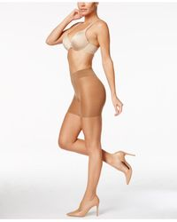 Wolford - Natural Luxe 9 Control Top Tights - Lyst