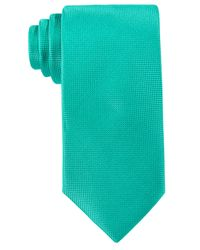 Perry Ellis | Blue Oxford Solid Tie for Men | Lyst