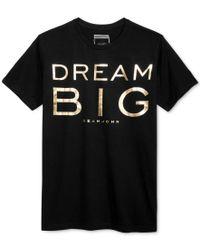 Sean John | Black Men's Dream Big T-shirt, Only At Macy's for Men | Lyst