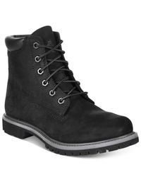 Timberland | Black Waterville Premium Booties - A Macy's Exclusive | Lyst