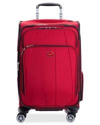 "Delsey | Red Closeout! 60% Off Helium Breeze 5.0 21"" Carry On Spinner Suitcase, Only At Macy's for Men 