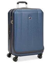 "Delsey | Closeout! 60% Off Helium Shadow 3.0 29"" Expandable Hardside Spinner Suitcase, In Blue, A Macy's Exclusive Color for Men 
