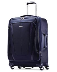 "Samsonite - Blue Closeout! 60% Off Silhouette Sphere 2 25"" Spinner Suitcase, Available In Ruby Red, A Macy's Exclusive Color for Men - Lyst"