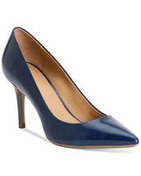 Calvin Klein   Blue Women's Gayle Pointed-toe Pumps   Lyst