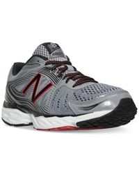 New Balance - Black Men's 680v4 Running Sneakers From Finish Line for Men - Lyst
