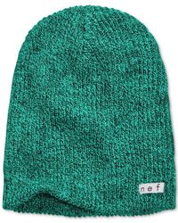 Neff | Green Daily Heathered Beanie for Men | Lyst