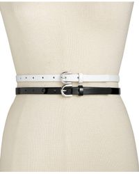 INC International Concepts | Black 2-for-1 Patent Belts, Only At Macy's | Lyst