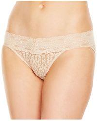 Wacoal | Natural Halo Lace Bikini 878205 | Lyst