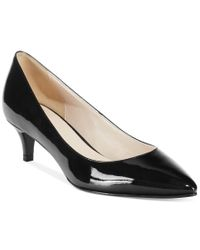 Cole Haan | Black Juliana Kitten Heel Pumps | Lyst