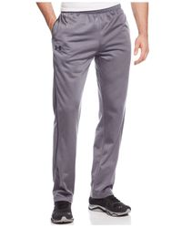 Under Armour | Gray Loose-fit Fleece-lined Pants for Men | Lyst