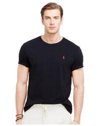 Polo Ralph Lauren | Orange Custom-fit Cotton Jersey Crewneck for Men | Lyst