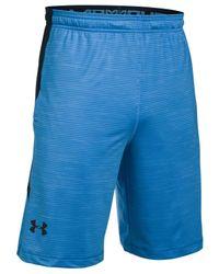 Under Armour | Blue Men's Raid Heatgear Shorts for Men | Lyst