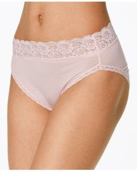 Vanity Fair | Pink Body Caress Ultimate Comfort High Cut Brief 13280 | Lyst